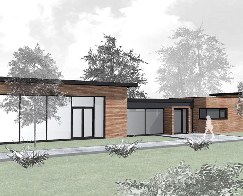 Neubau Yogastudio Assamstadt