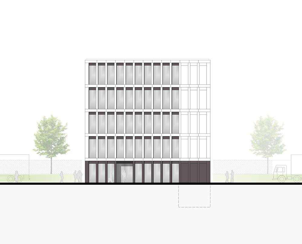 Bürogebäude Logistik Neubau