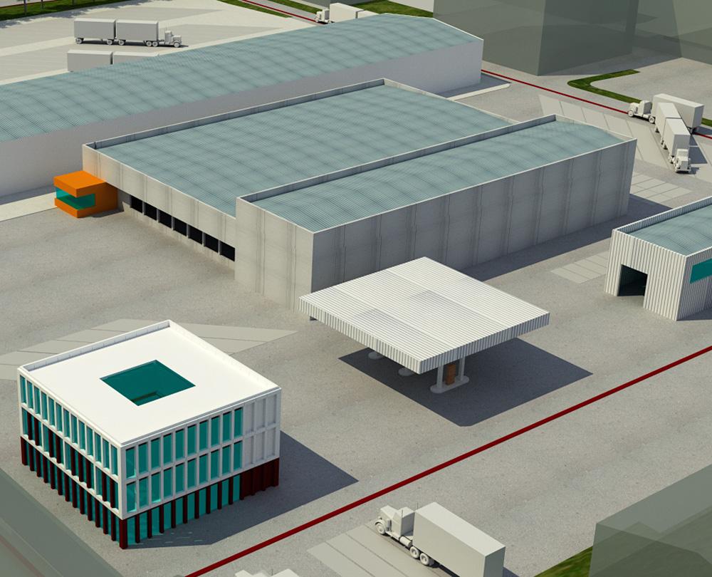 Logistikzentrum Neubau